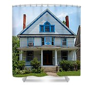 Old West End White 10 Shower Curtain