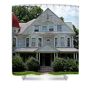 Old West End White 2 Shower Curtain
