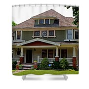 Old West End White 4 Shower Curtain