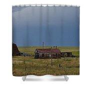 Old West Farm Shower Curtain