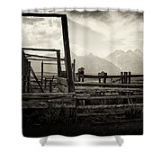 Old West Relics Shower Curtain