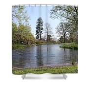 Old Westbury Gardens Tranquility Shower Curtain