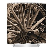 Old Western Wagon # 5 Shower Curtain
