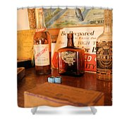 Old Whiskey Shower Curtain