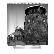 Old Whiteface Shower Curtain by David Lee Thompson