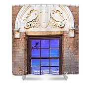 Old Window Mission San Buenaventura Shower Curtain