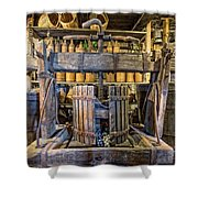 Old Wine Press 2 Shower Curtain