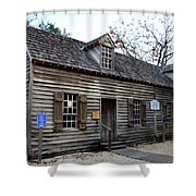 Old Wine Store - St Augustine Shower Curtain