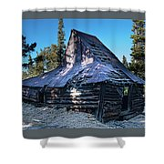 Old Witch Hat Gold Mine Shower Curtain