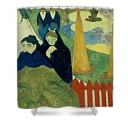 Old Women Of Arles Shower Curtain