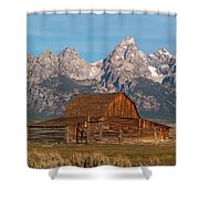Old Wood Barn Shower Curtain