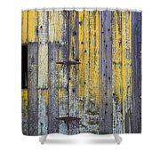 Old Wooden Barn Shower Curtain