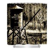Old Wooten Shower Curtain
