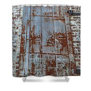 Old World Door Shower Curtain