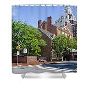 Olde City Tavern  - Philadelphia Pa Shower Curtain