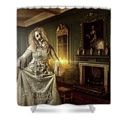 Olde Maiden Shower Curtain