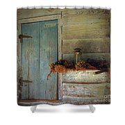 Olde Thymes Shower Curtain