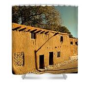 Oldest House In Santa Fe Shower Curtain