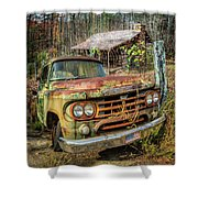 Oldie But Goodie 1959 Dodge Pickup Truck Shower Curtain