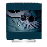 Oldies Style  Shower Curtain