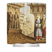 Oldmixon, John Gleanings From Piccadilly To Pera. Shower Curtain