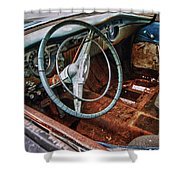 Olds Interior Shower Curtain