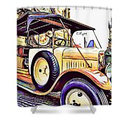 Oldtimer 2 Shower Curtain