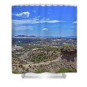 Olduvai Gorge - The Cradle Of Mankind Shower Curtain