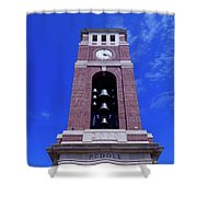 Ole Miss Bell Tower Shower Curtain