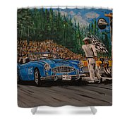 Ole Patsy Shower Curtain