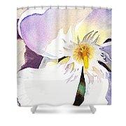 Oleander Flower By Irina Sztukowski Shower Curtain