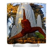Oleeta Of The Timucua Shower Curtain