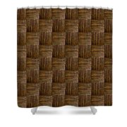 Olive Texture Study Shower Curtain
