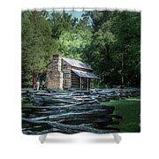 Oliver Cabin Shower Curtain