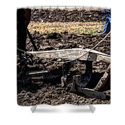 Oliver Plow 813 Shower Curtain