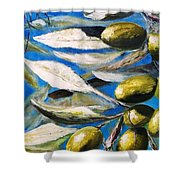 Olives Extract Shower Curtain