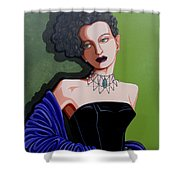 Olivia Shower Curtain by Tara Hutton