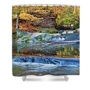 Olmsted Waterfalls Shower Curtain
