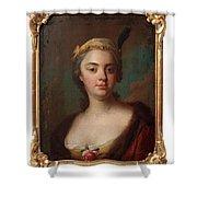 Olof Arenius, Ulrika Eleonora Ribbing Af Zernava 1723-1787 Shower Curtain