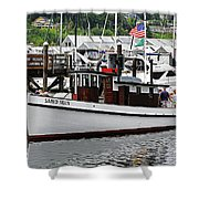 Olympia's Percival Landing Shower Curtain