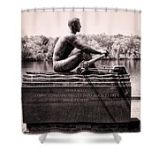 Olympic Champion - John B Kelly Shower Curtain