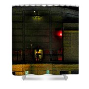 Olympic Club At Night Shower Curtain