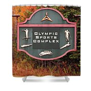 Olympic Complex  Shower Curtain