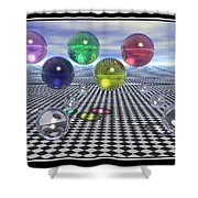 Olympic Dreams Shower Curtain