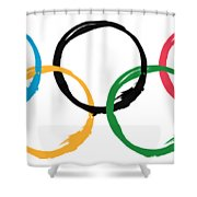 Olympic Ensos Shower Curtain