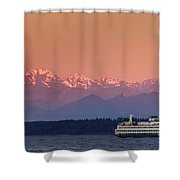 Olympic Journey Shower Curtain
