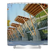 Olympic Oval Shower Curtain