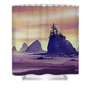 Olympic Seashore Shower Curtain