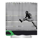 Olympic Wars Shower Curtain