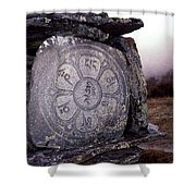 Om Mani Padme Hum Shower Curtain